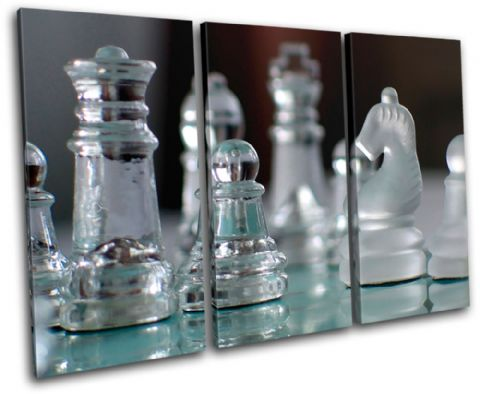 Glass Chess Pieces Hobbies - 13-1996(00B)-TR32-LO